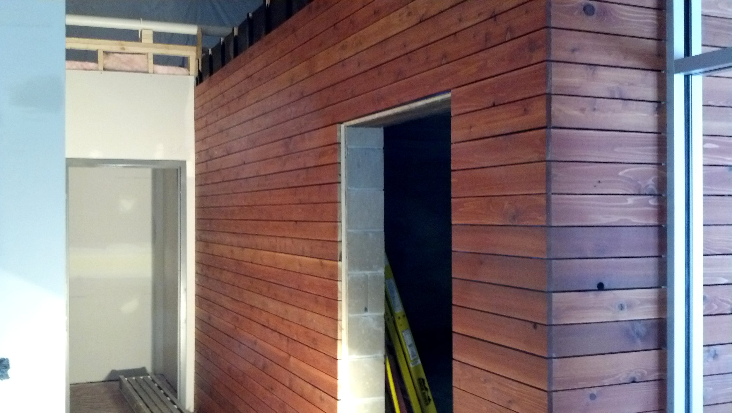 Construction Wednesday - Wood cladding detail