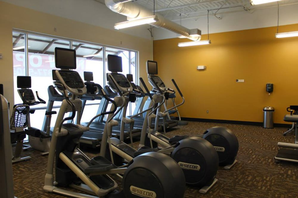 NOW OPEN!! - Wilkus Architects works with Anytime Fitness to develop it's latest location in San Antonio (Hausman Village), Texas.