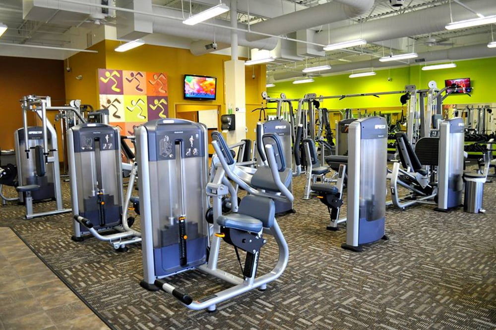 NOW OPEN!! - Wilkus Architects works with Anytime Fitness to develop it's latest location in Oklahoma City, Oklahoma.