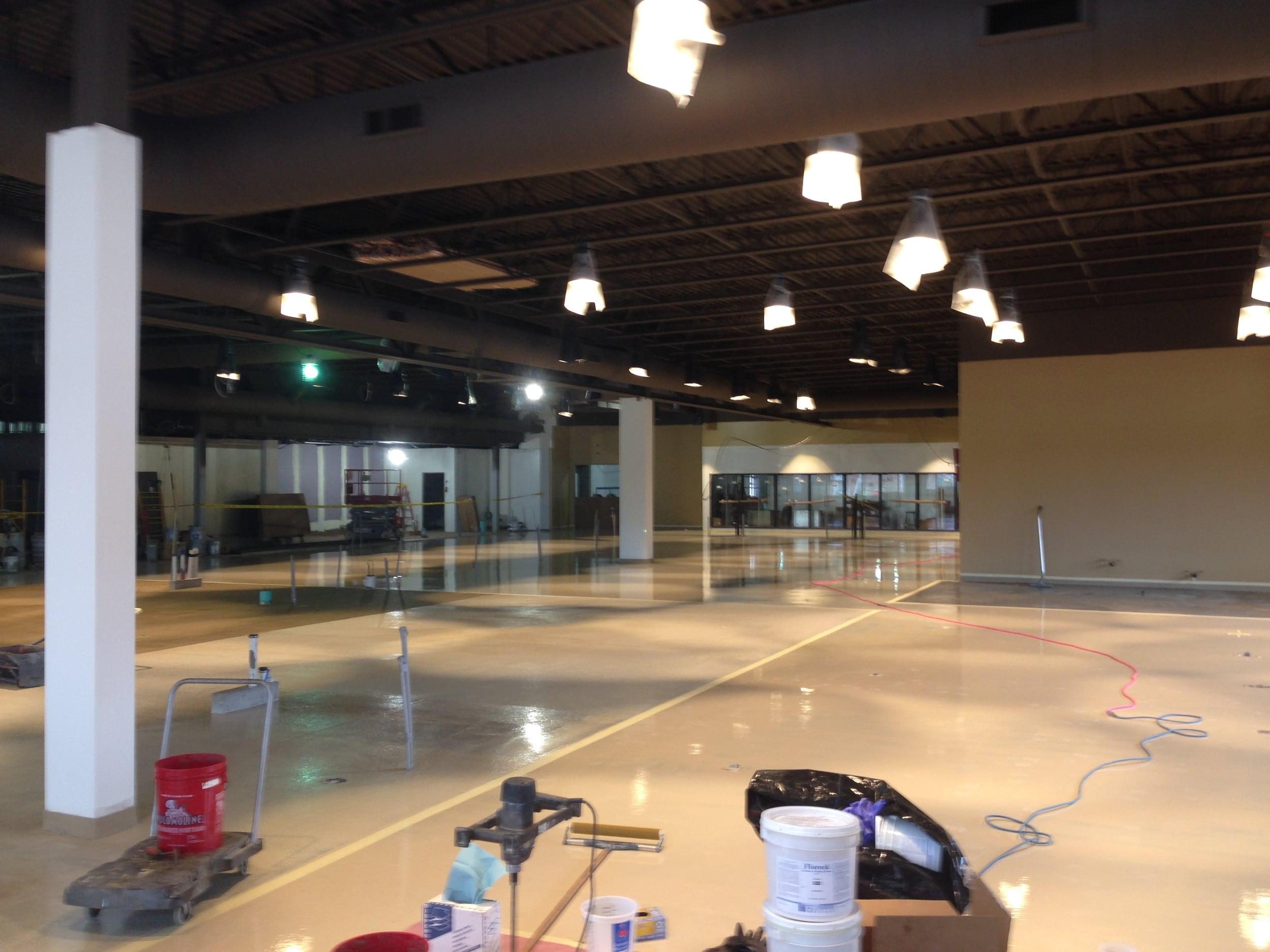 Main Level Floor Finish Prep