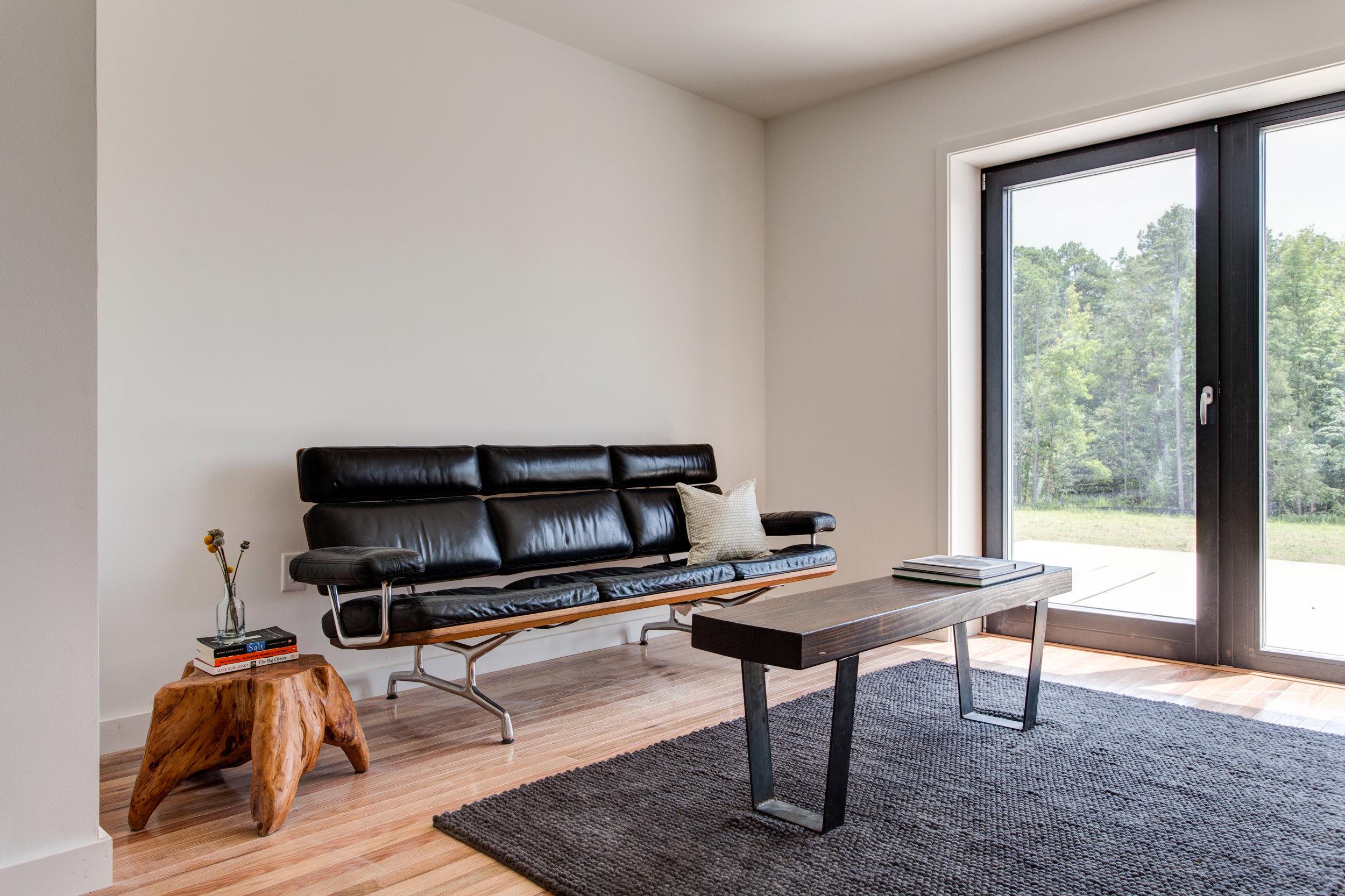 Living Room  - ecoMOD South Passive House