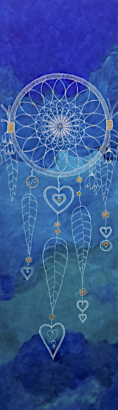 Blue Dreamcatcher by Lynn Hanford-Day