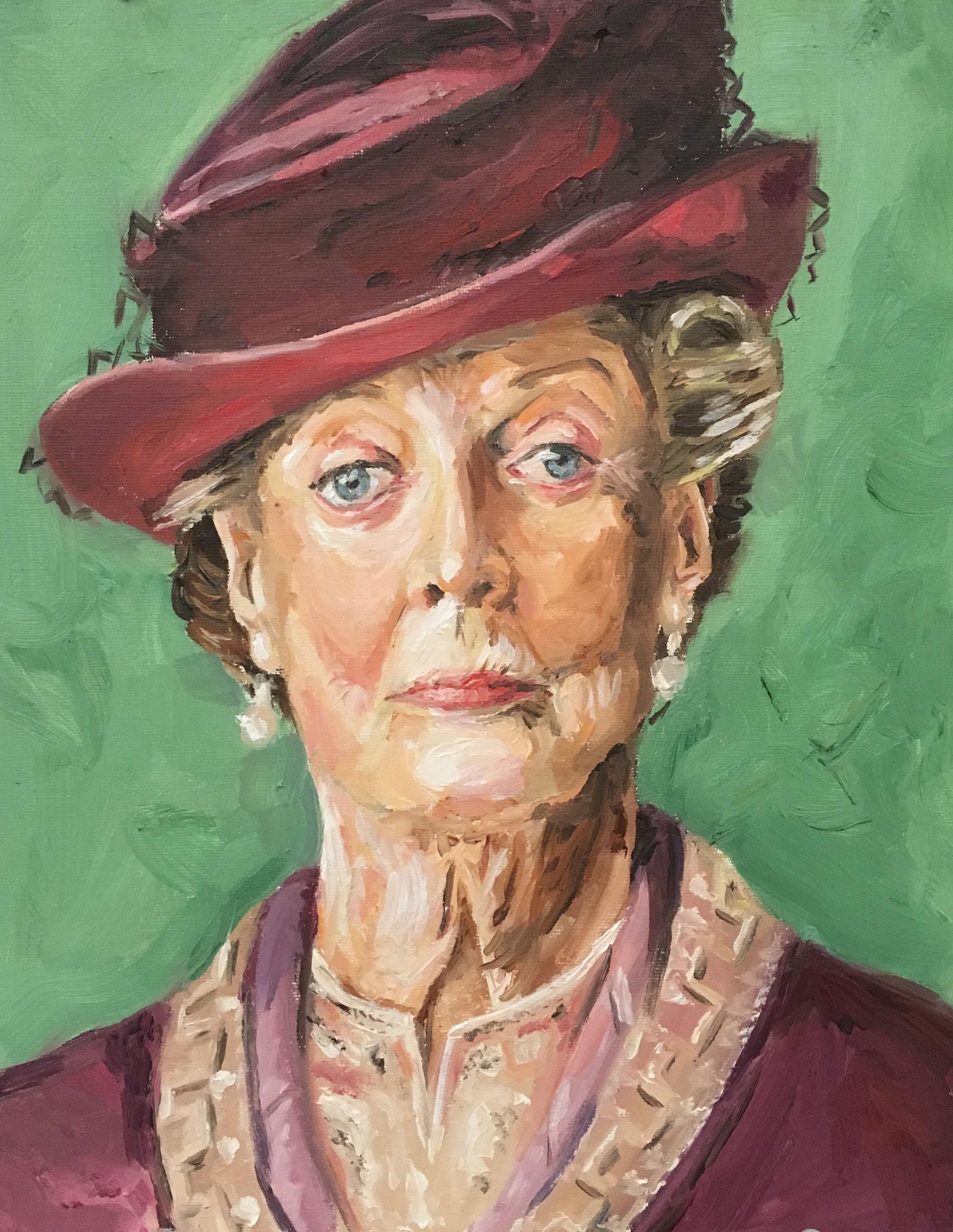 Maggie Smith - Oil on canvas-board, 11 x 14'
