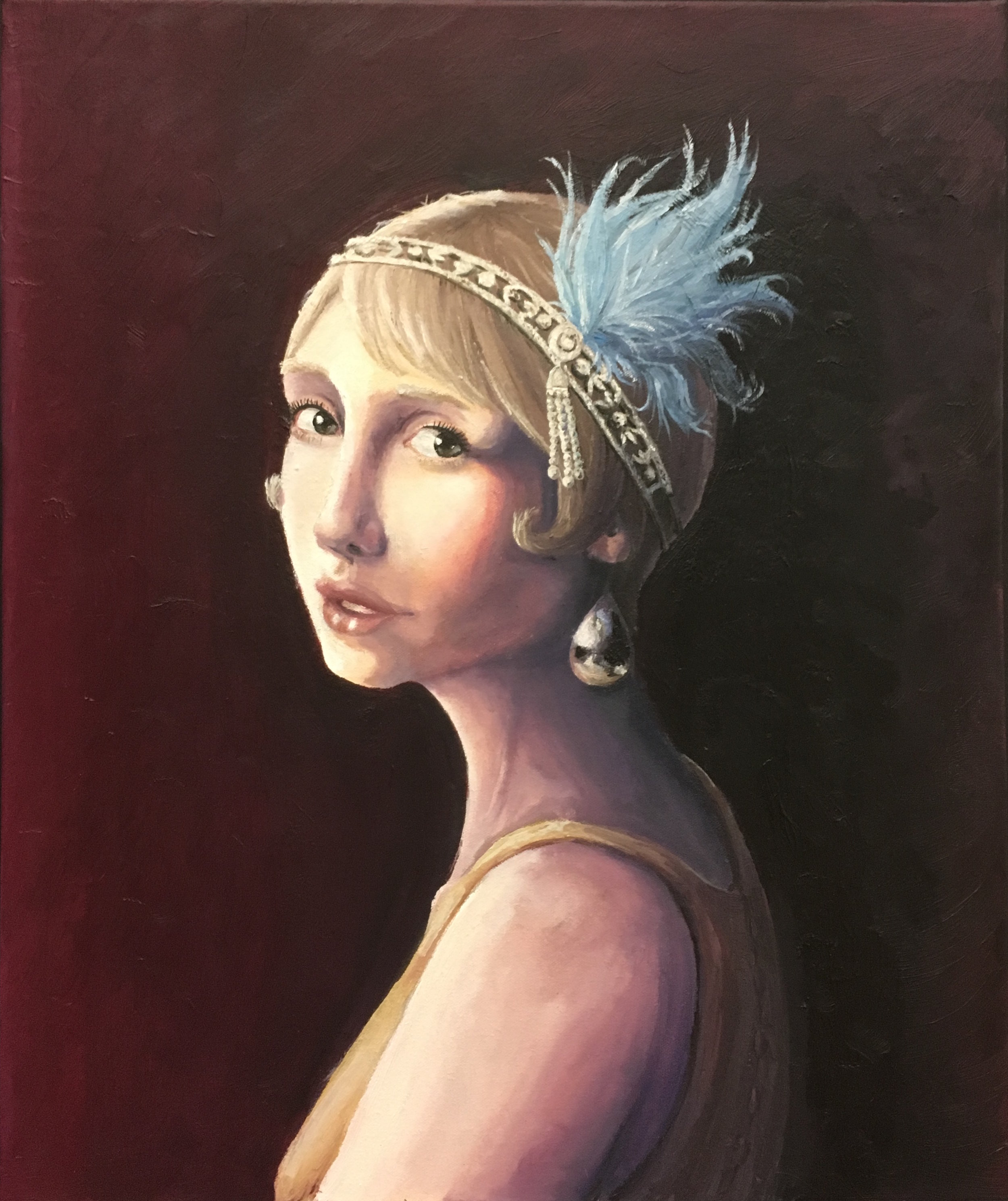 Phelicia Belle-Joie - Oil on canvas, 20 x 24'