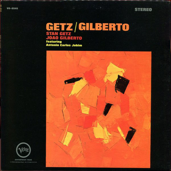 Getz/Gilberto - By Joao Gilberto and Stan Getz, 1964This album is the only bossa nova on here, but it has jazz flavors, and it's a classic, so I felt it merited a spot on this list. This album is great to study to, and the voices are soft, and the guitar is gentle. Bossa nova is in Portuguese. This collection features the ultimate bossa nova classic: The Girl from Ipanema.