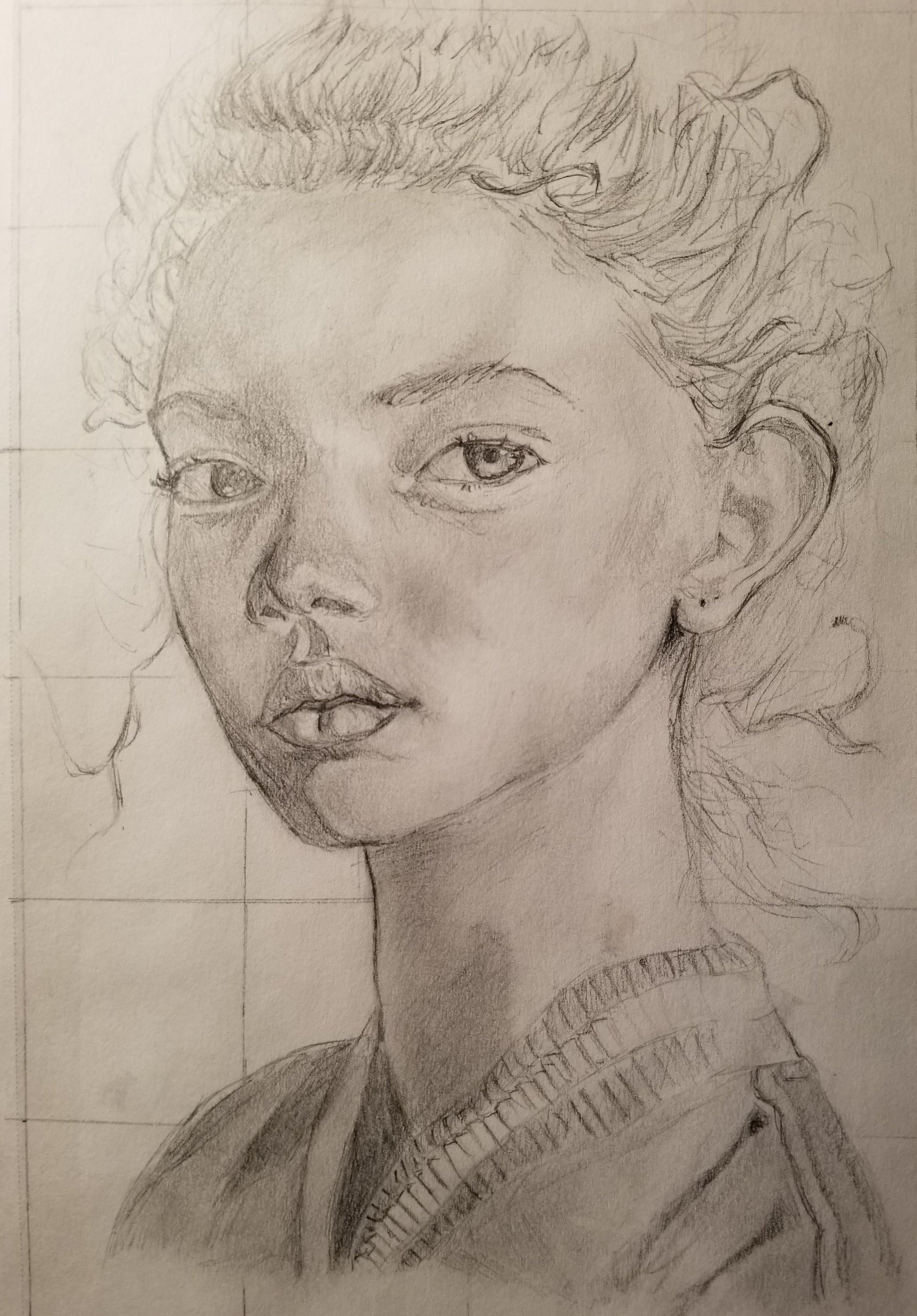 Media type: Pencil drawing