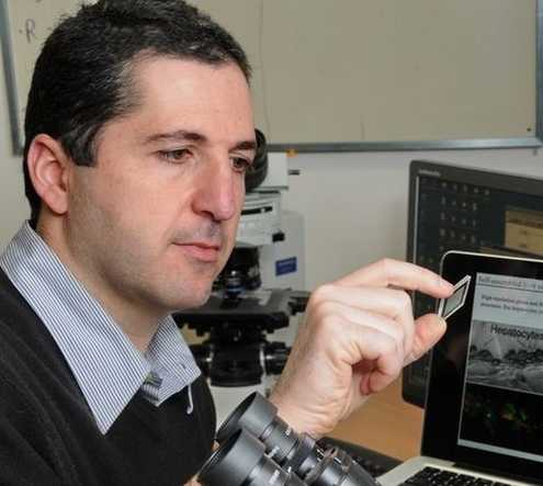 Professor Yaakov Nahmias, the brains behind SuperMeat.