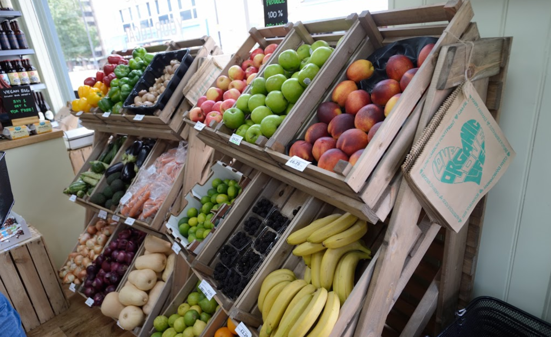 From all the vegan treats to good old wholesome fruit and veg, GreenBay is a one-stop shop for vegan eating.