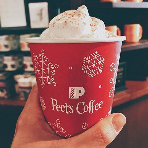 The introduction of vegan coconut whipped cream shows that Peet's is thinking about the fastest growing dietary movement in the US.