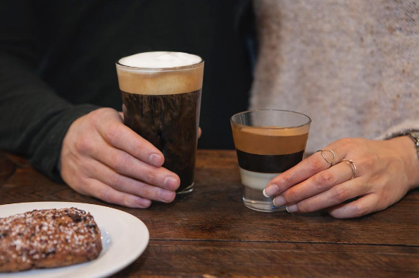 Peet's has dabbled in vegan specialty drinks before, and a whole host of vegan scones, puffins and pastries available.