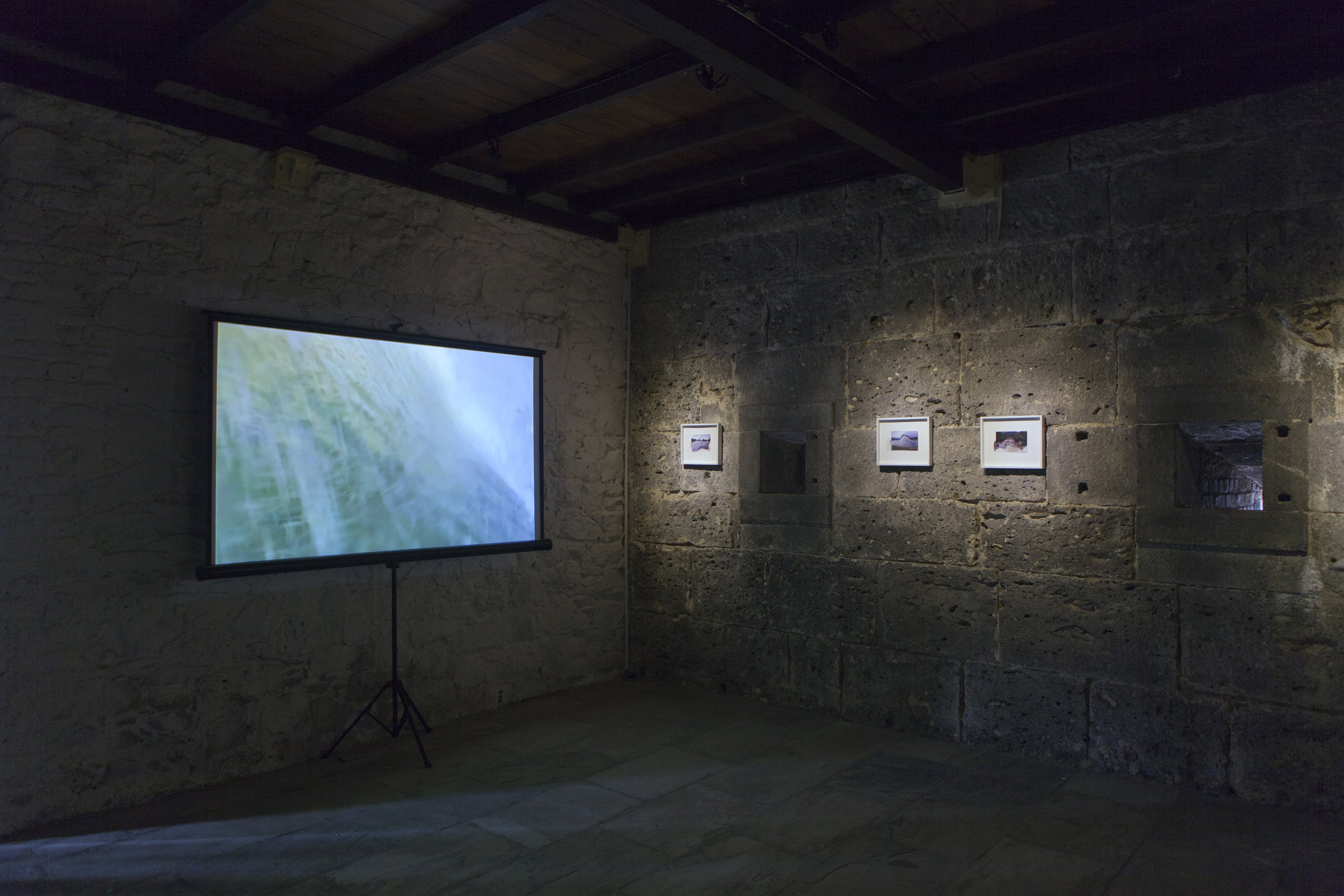 Alexander Duncan, hold down (off Mauritius) , installation view, Edge Effects, La Citadelle, Mauritius, 2016