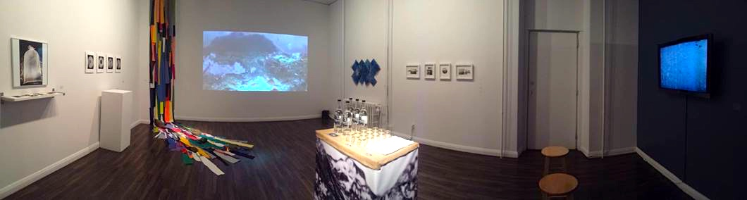 Turning Tides , Installation View, Gallery 115, University of Ottawa