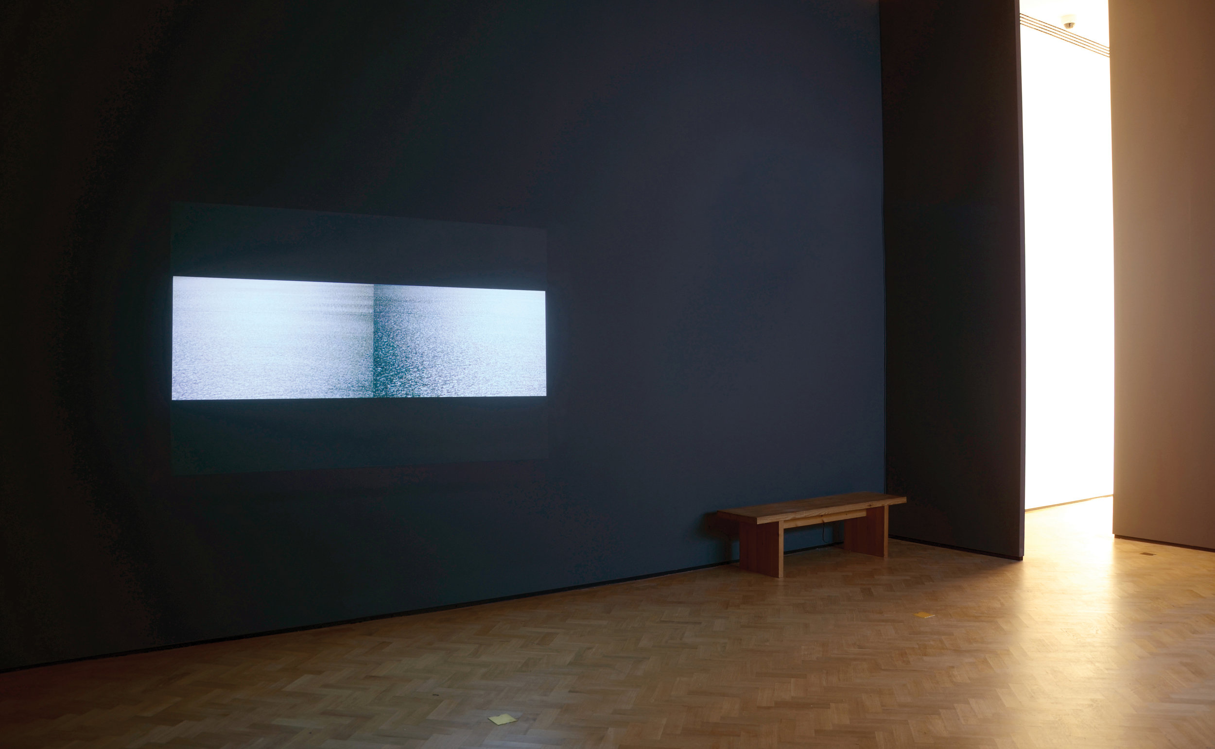 Sylvia Safdie   Larnaca No. 3, 2017   Total running time:11:44 minutes / HD / colour  Camera: Sylvia Safdie  Editing: Patrick Andrew Boivin, Sylvia Safdie  Audio: Silent  Installation view,  These Waters