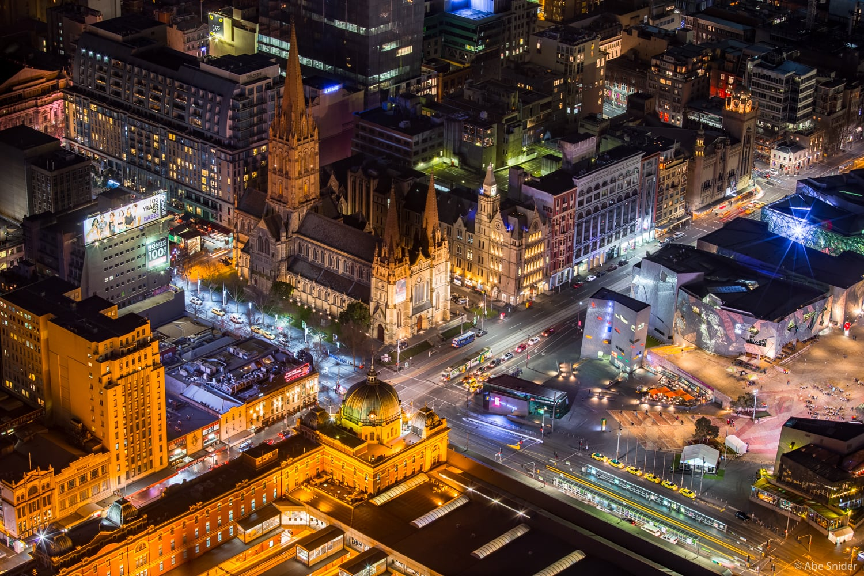 Flinders Street Station and Square, Melbourne