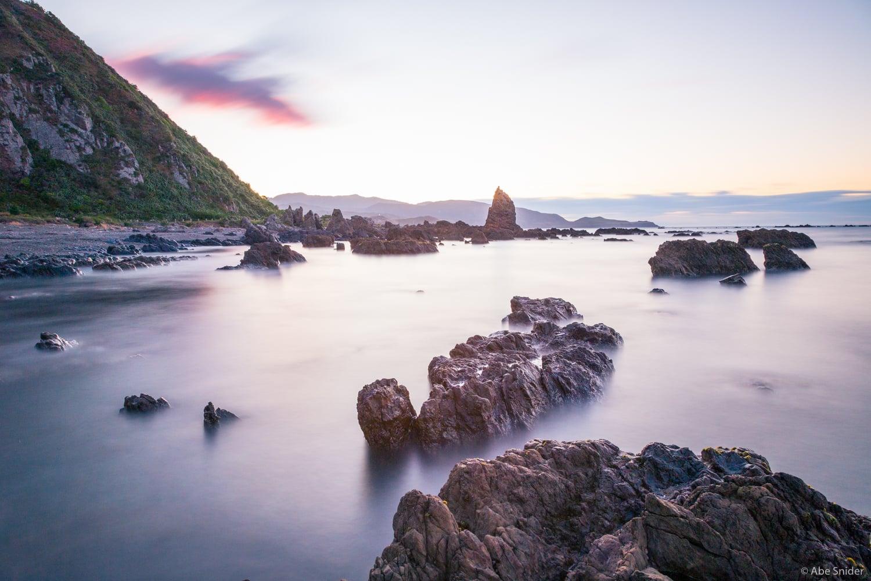 Moa Point Sunrise