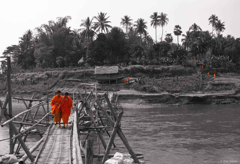 Monks in Luang Prabang