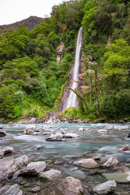 Thunder Creek Falls, Mount Aspiring National Park