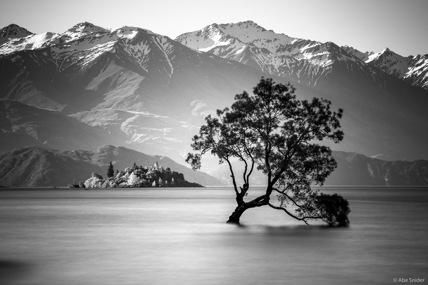 Wanaka Tree, Lake Wanaka, New Zealand   This is my winning image in Shoot The Frames December 2015 Landscape Photo Contest. Click  here  to see it on their website.