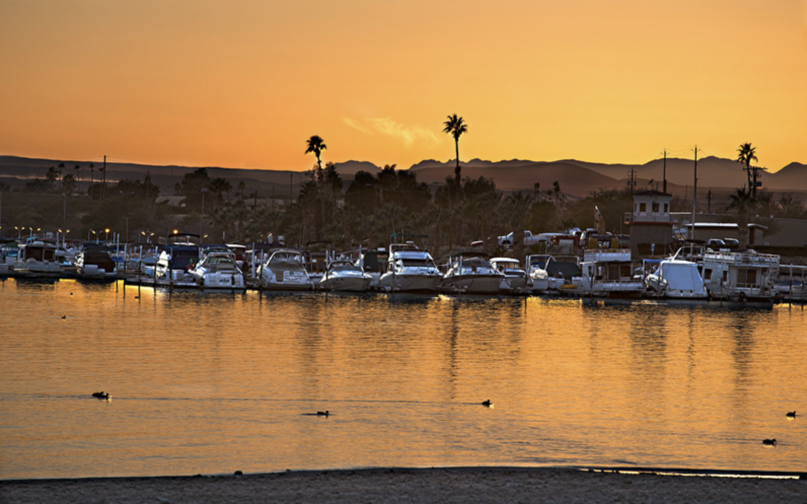 Last Light - December 31st, 2013 - Lake Havasu, Arizona