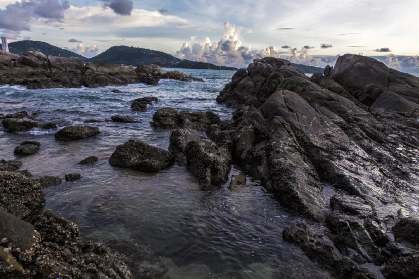 Sunset at Patong Beach, Phuket