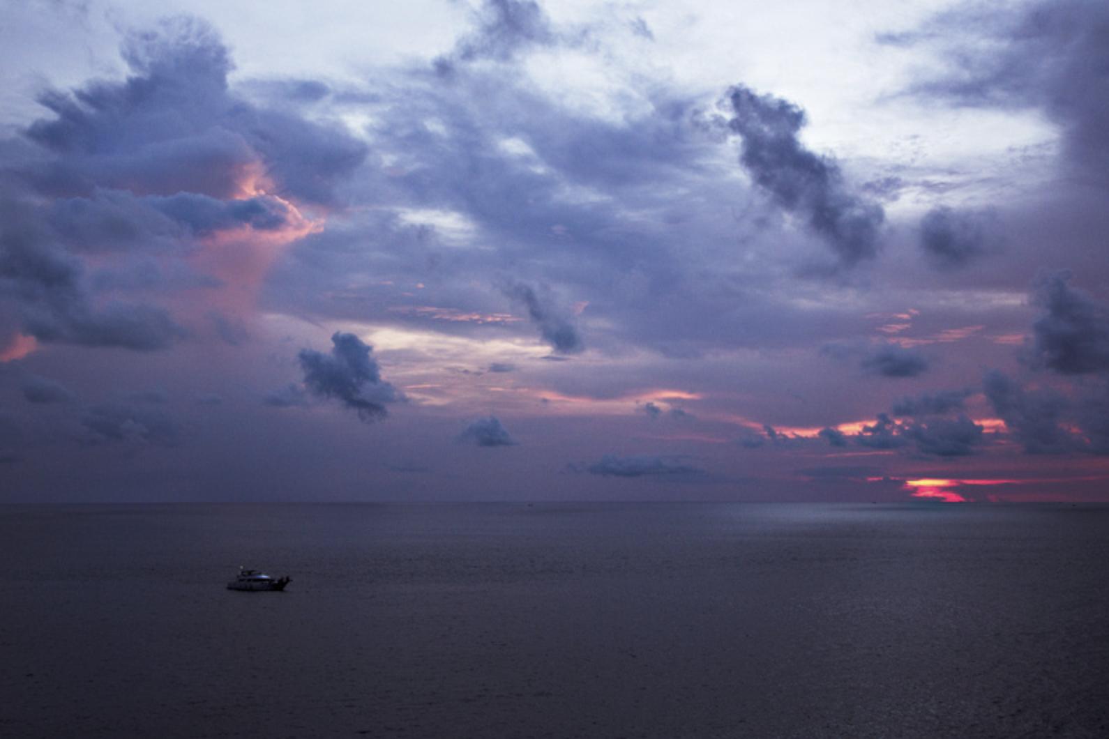 Sunset at Promthep Cape, Phuket.