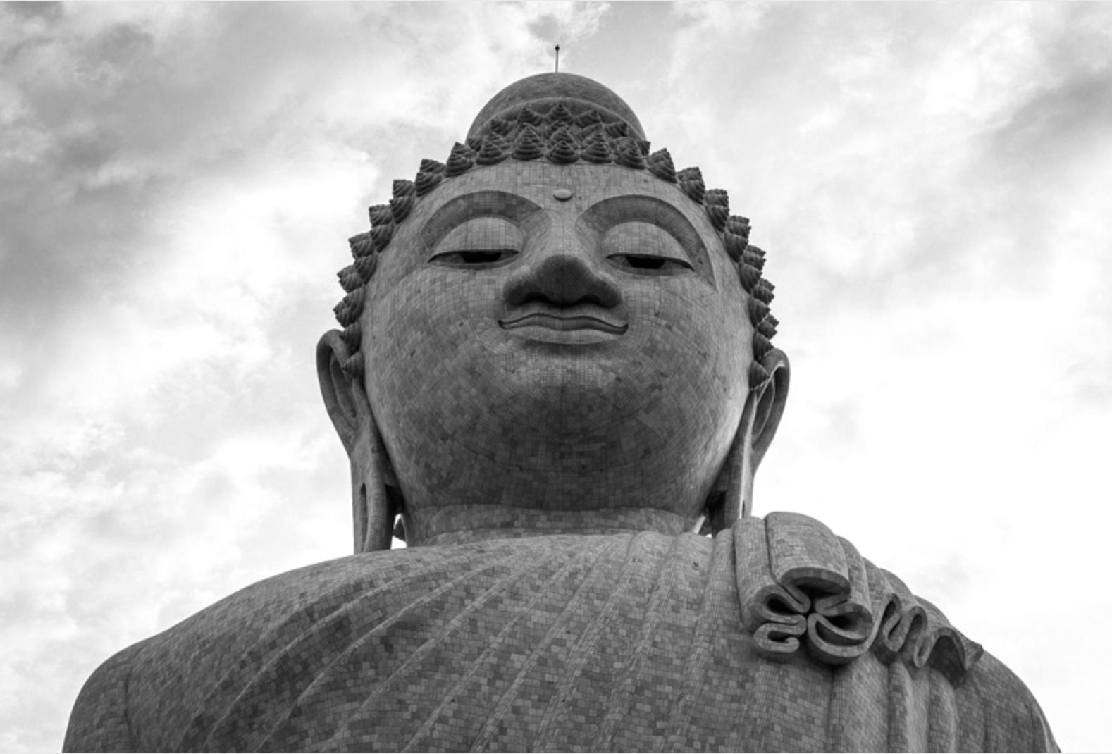 Face of PHRA PUTTAMINGMONGKOL AKENAKKIRI BUDDHA