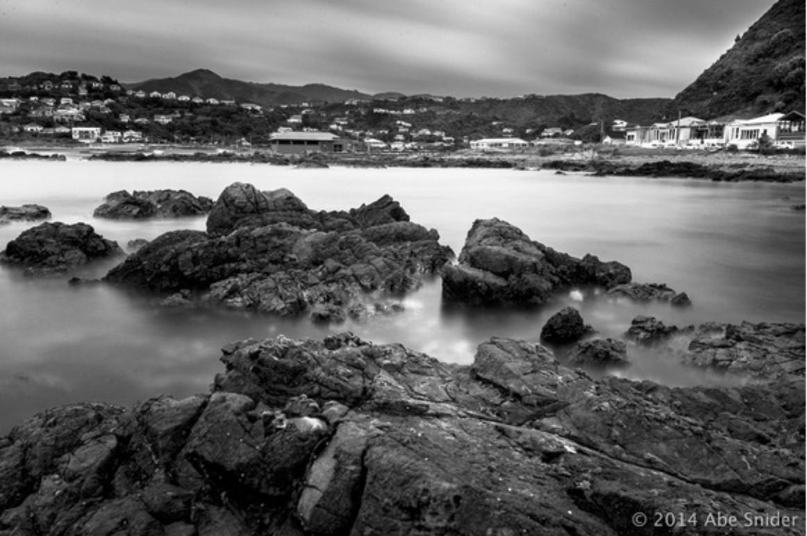Owhiro Bay Long Exposure