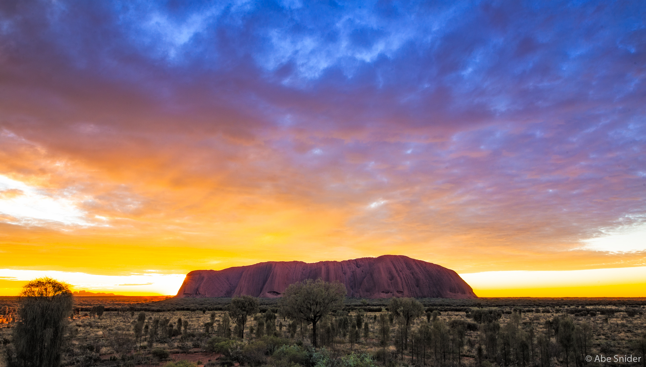 One of the last sunsets we enjoyed at Uluru, and one I will never forget.