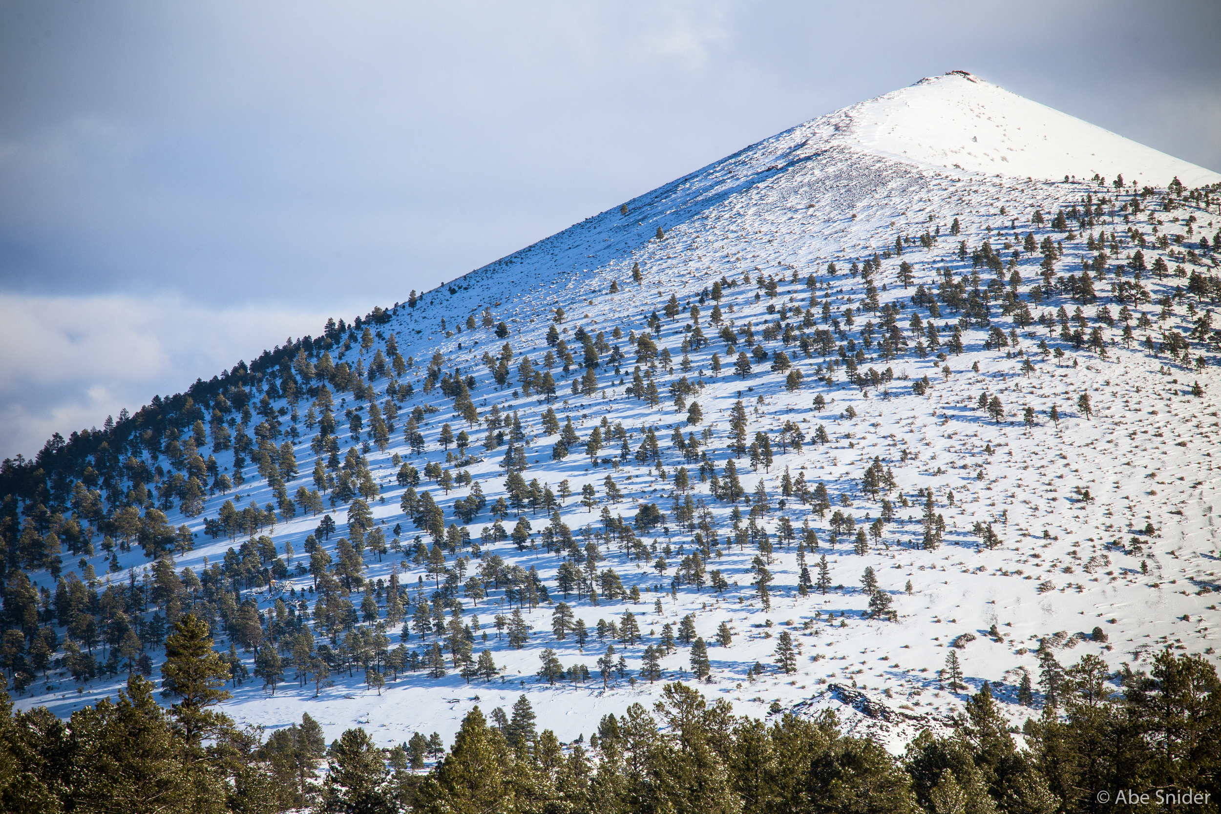 Sunset Crater - Winter