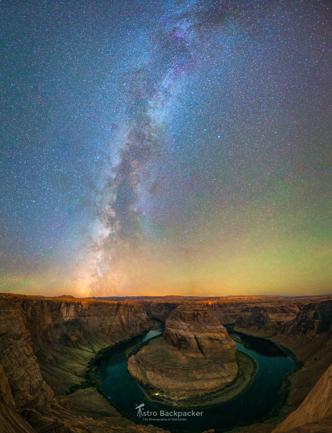 Fall Galaxy and Horseshoe Bend