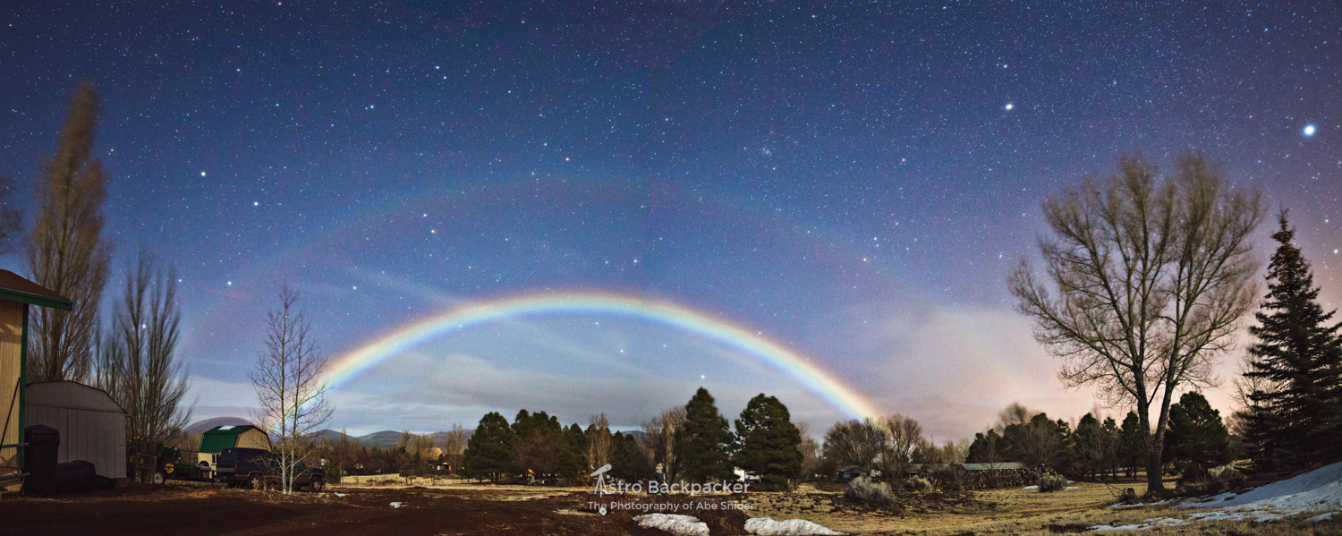 Double Moonbow in Doney Park