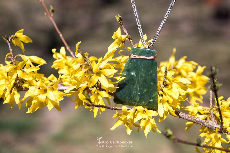 Product shot for Tiffanys new jade carvings.