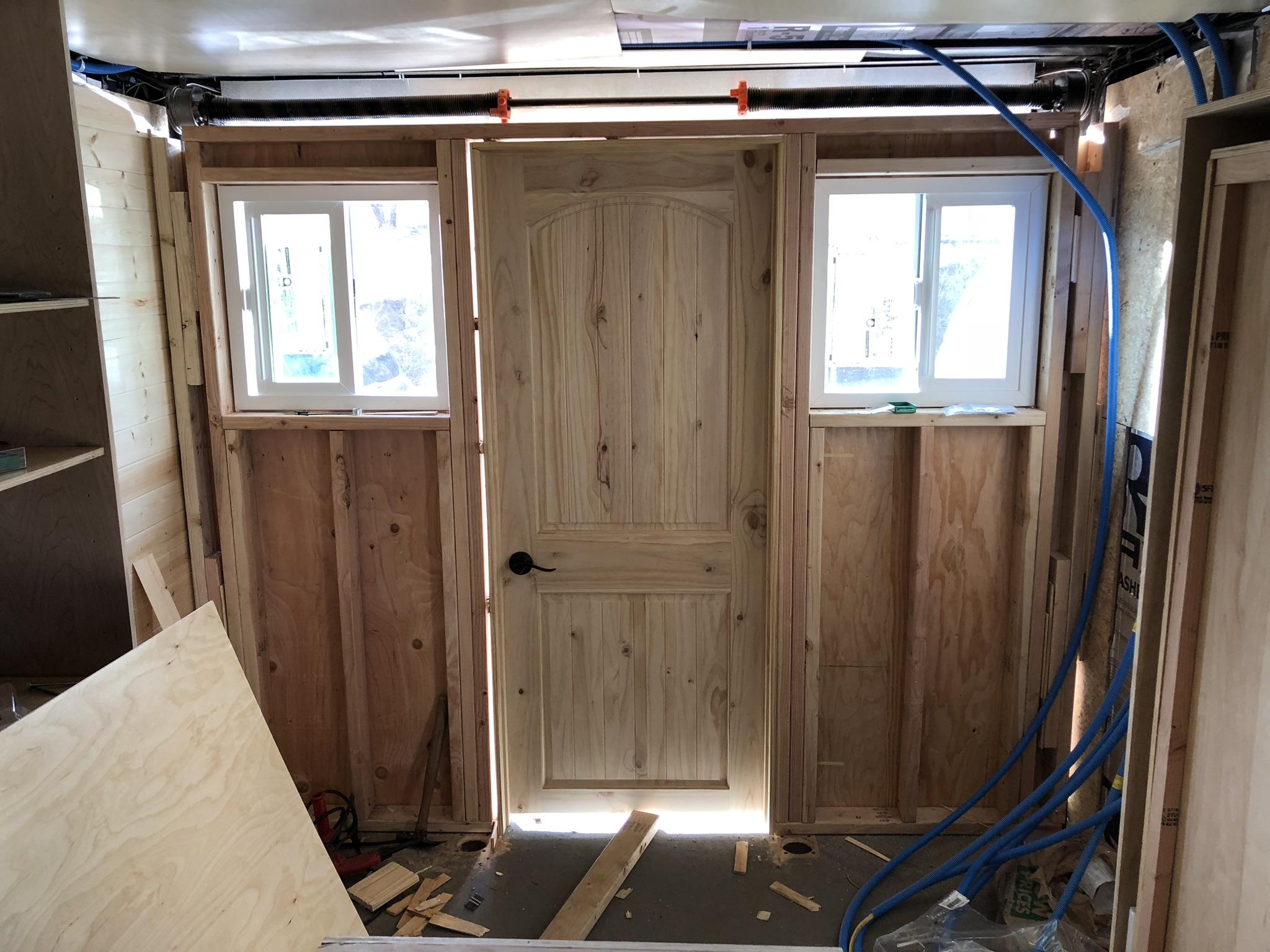 Interior work -