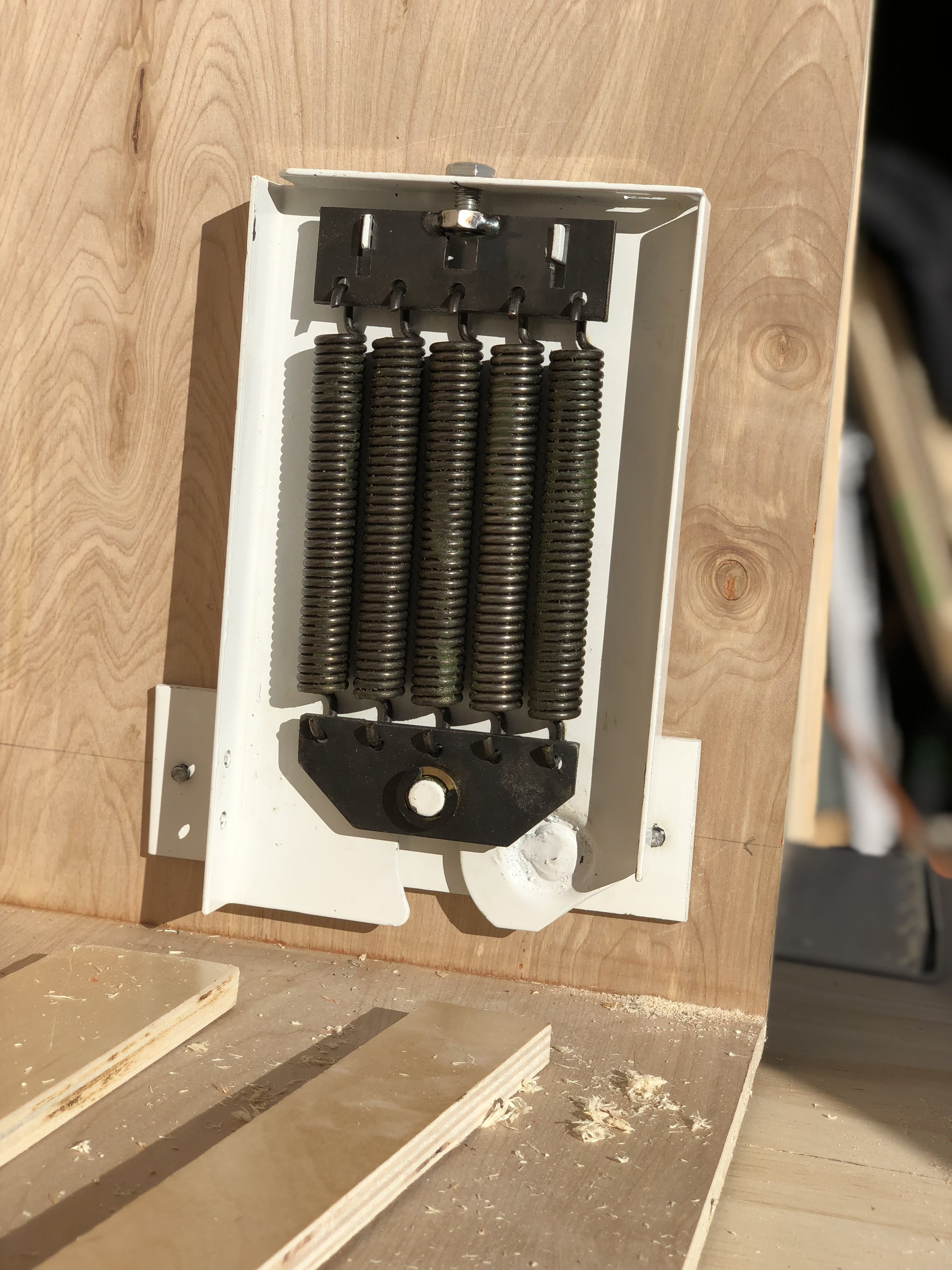 Springs - They were not easy to install.