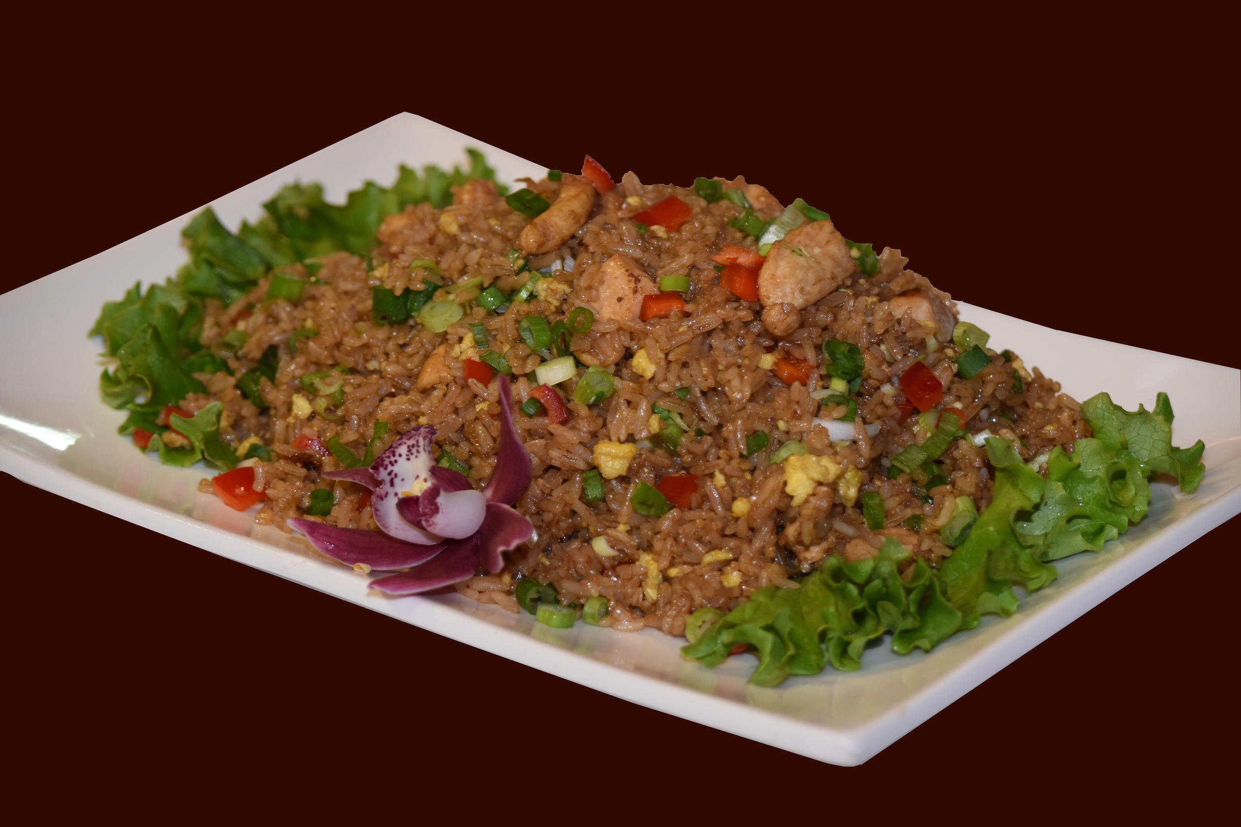 Chaufa Mixto (Carne y Pollo)