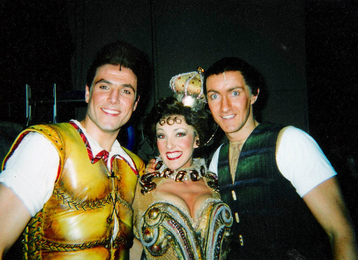 Backstage at the Dominion, Beauty and the Beast