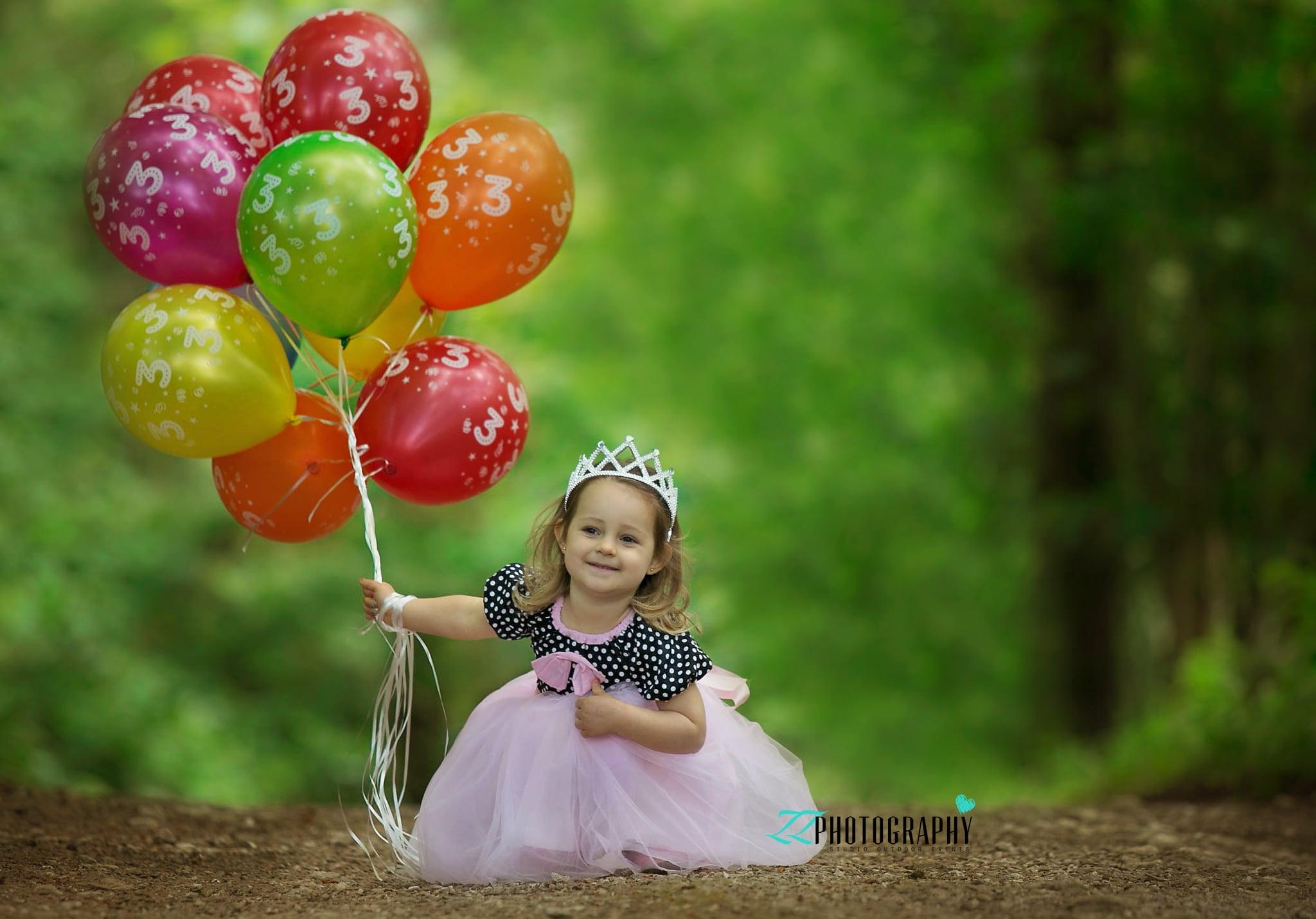 birthday girl in haldon forest