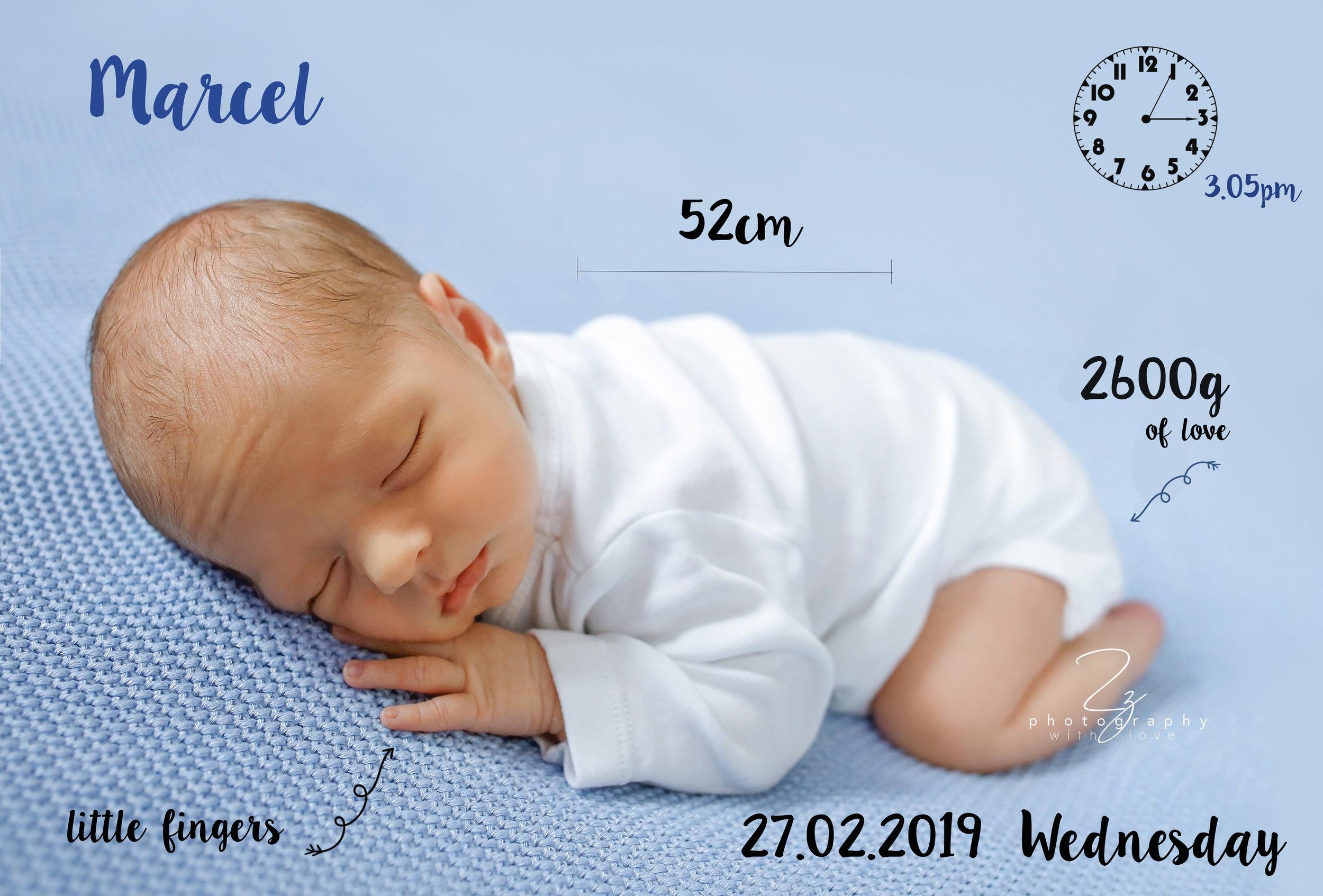 baby boy newborn birth metric gift