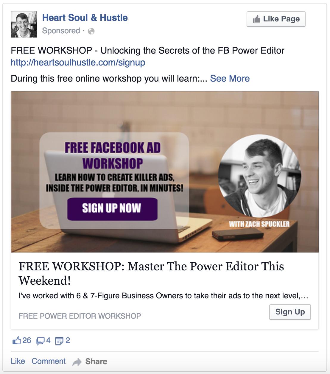 Periscope FB Ad