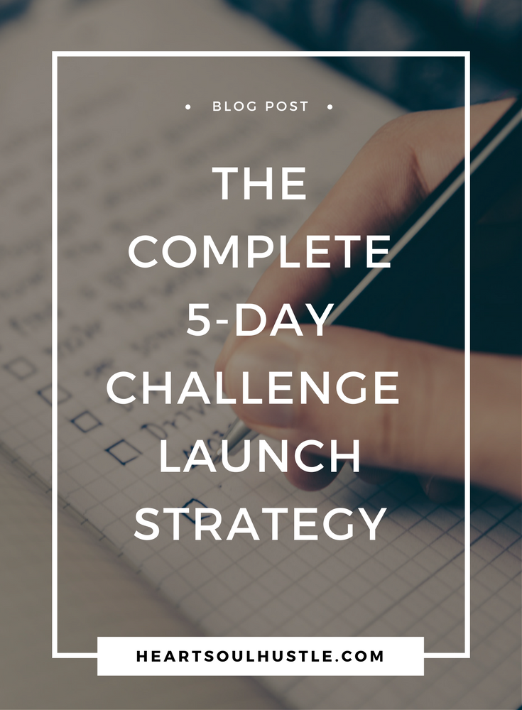 How To Run a 5-Day Challenge to Launch a Digital Product