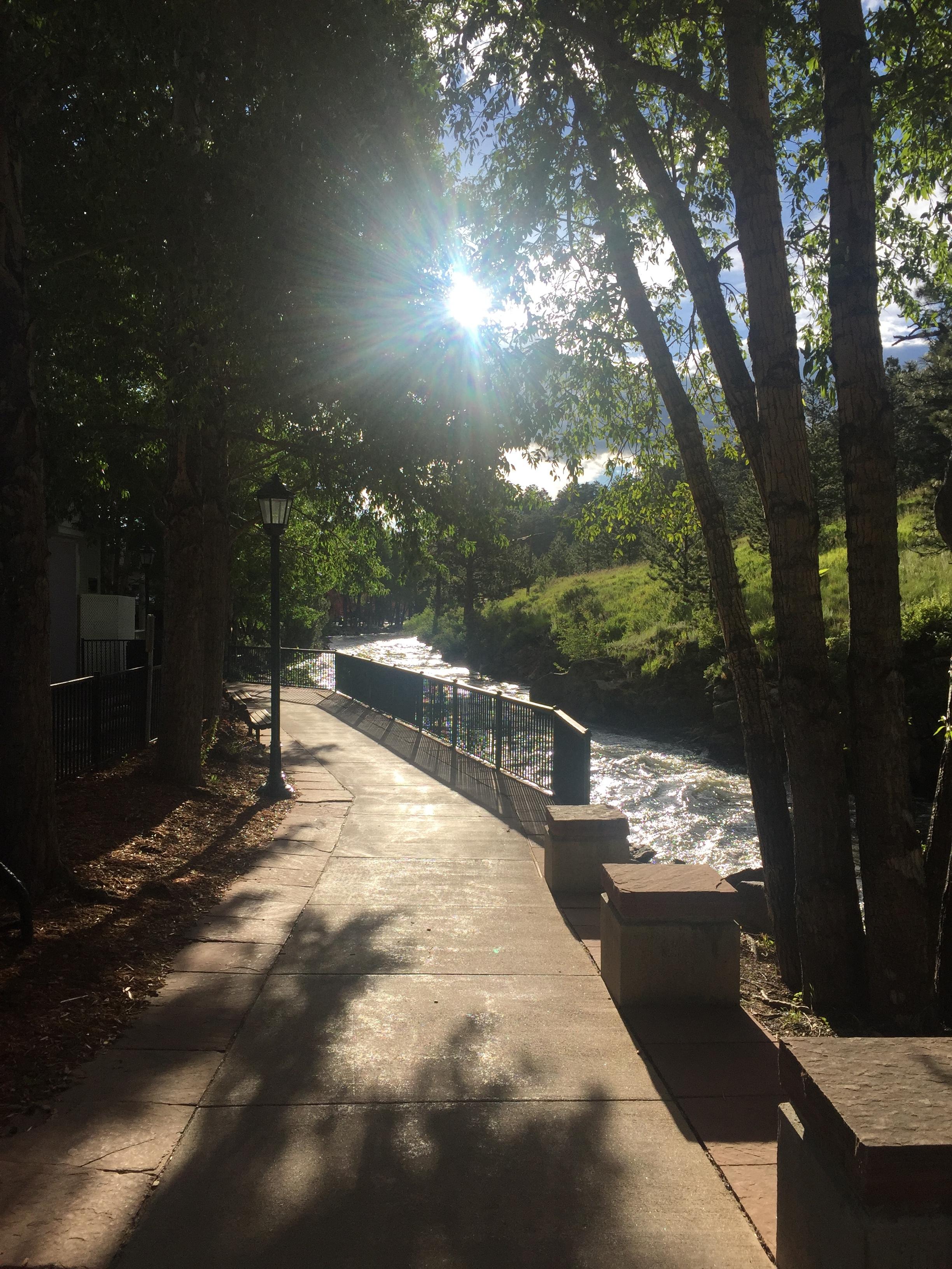 Stroll along the Riverwalk