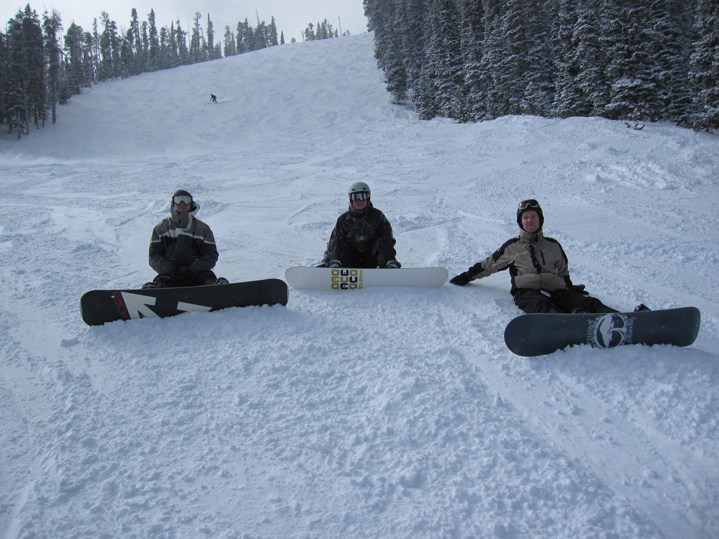Snowboarding at Eldora Ski Resort (photo courtesy of Darrell Newberry)