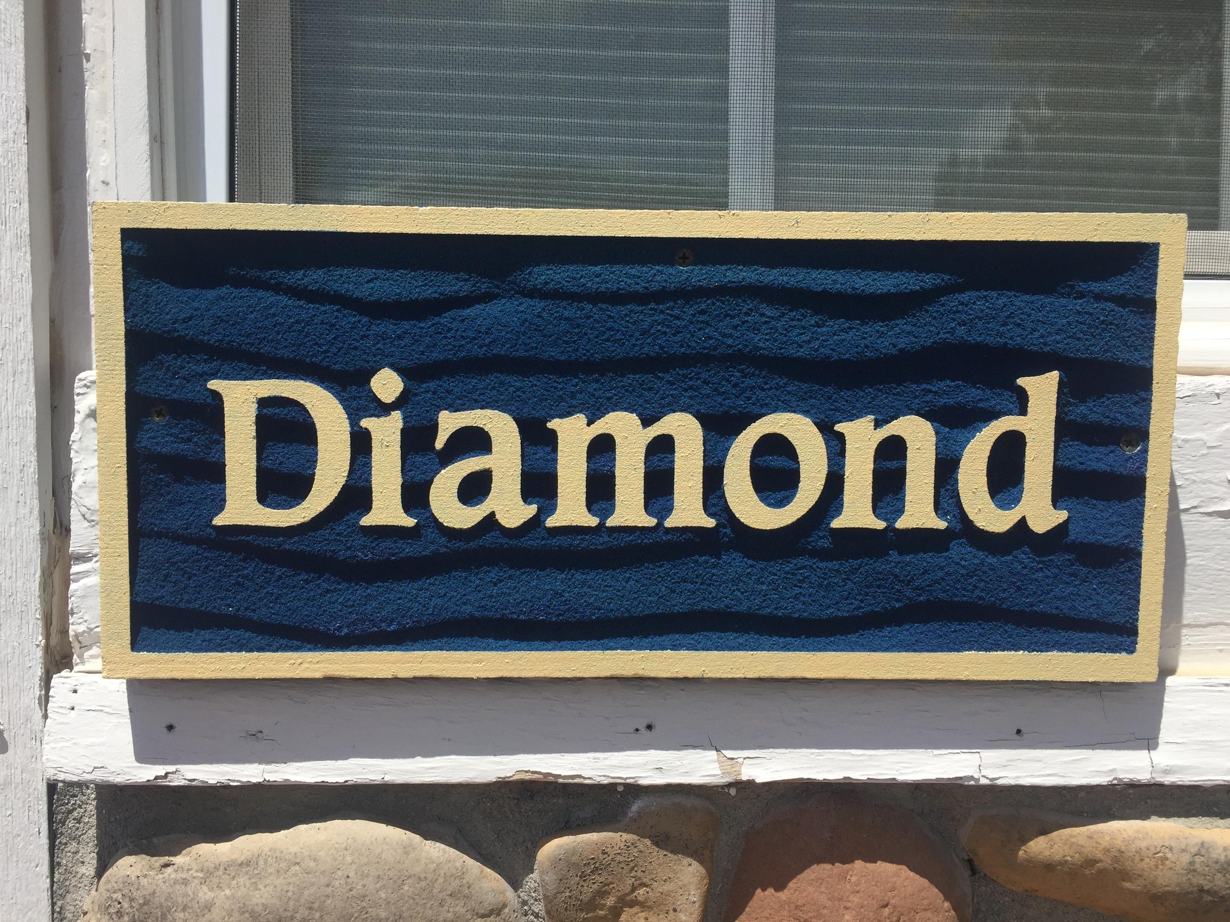 Diamond - Welcome!