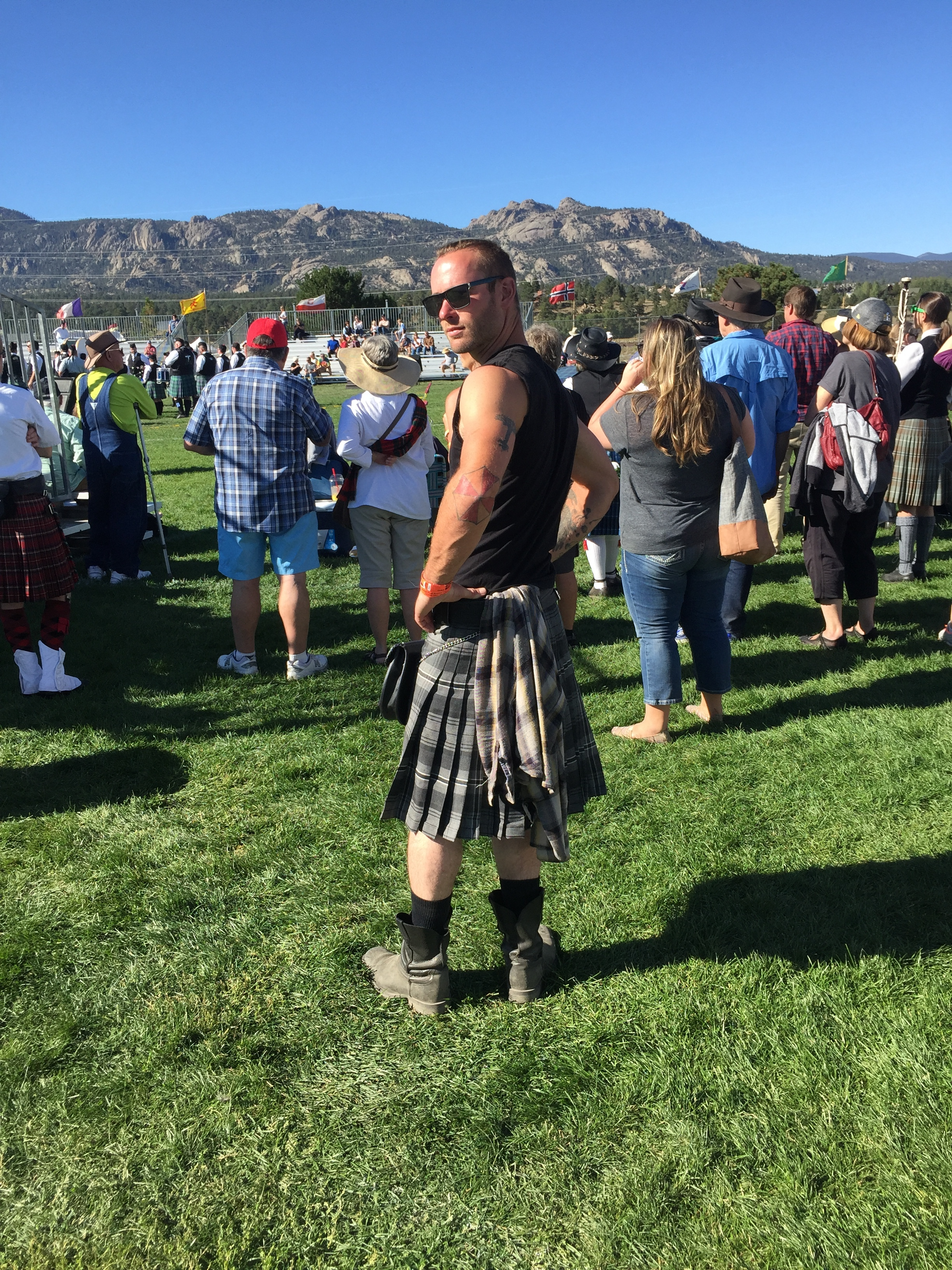 Kilts optional at the Highland Festival