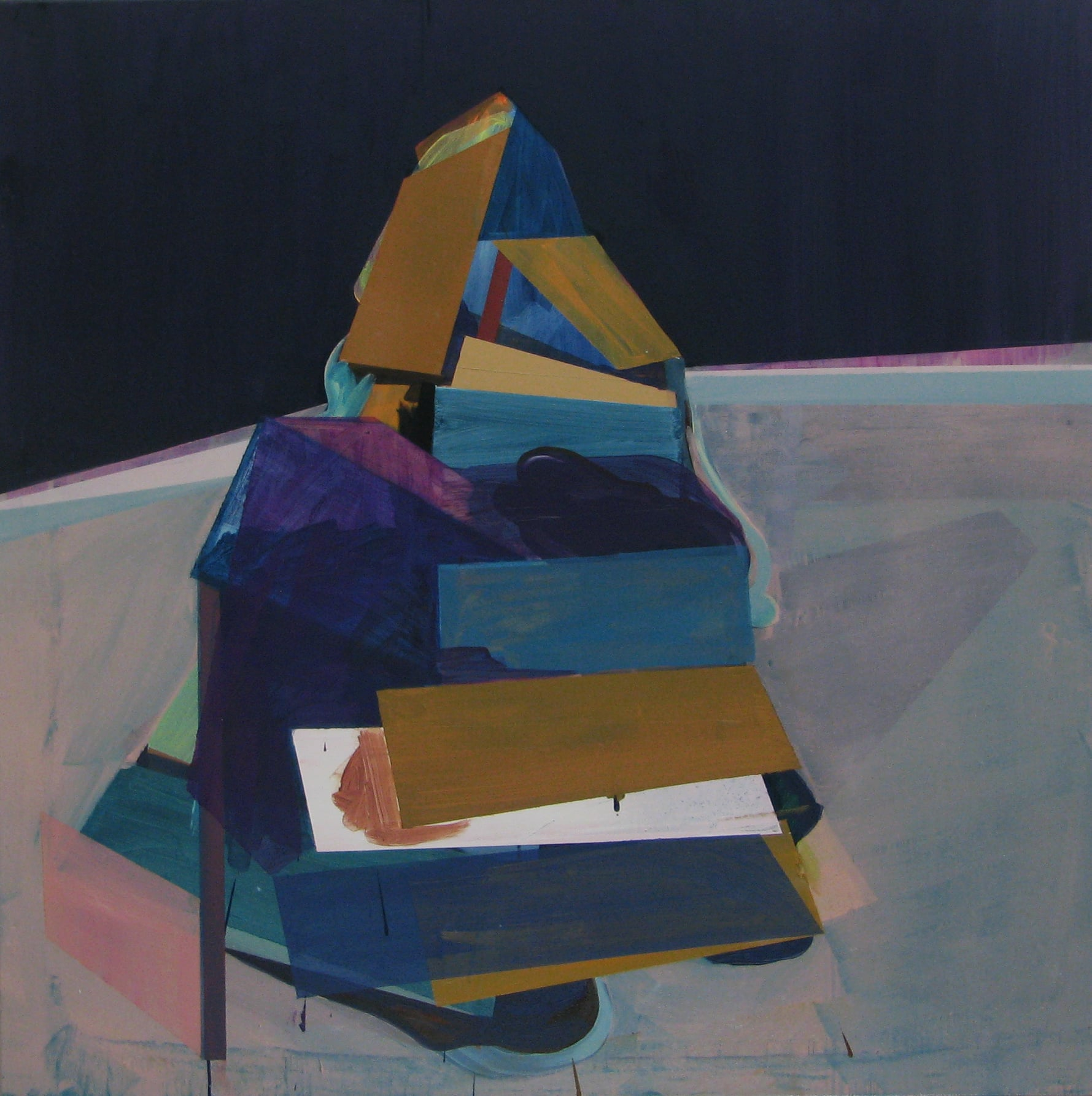 'Yummy' 2011 Oil on canvas 110 x 100cm