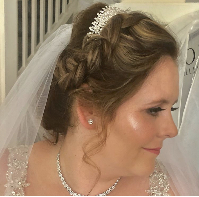 Natasha - Can't recommend Nicola enough, such a lovely person and on top of her amazing talent she did me and 3 of my bridal party's hair and makeup, always there for advice and support throughout the months before the wedding, amazing. Thank you so much!