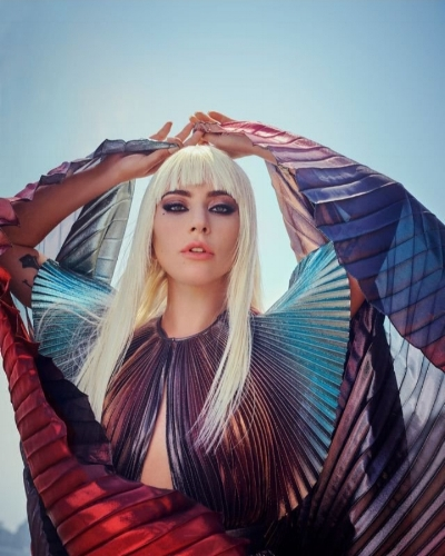 Lady Gaga for Elle