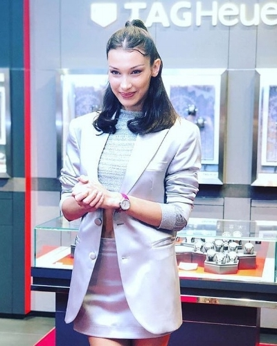 Bella Hadid for Tagheuer