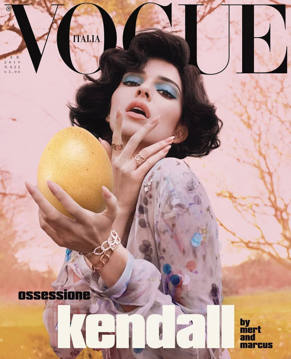 Kendall Jenner for Vogue Italia
