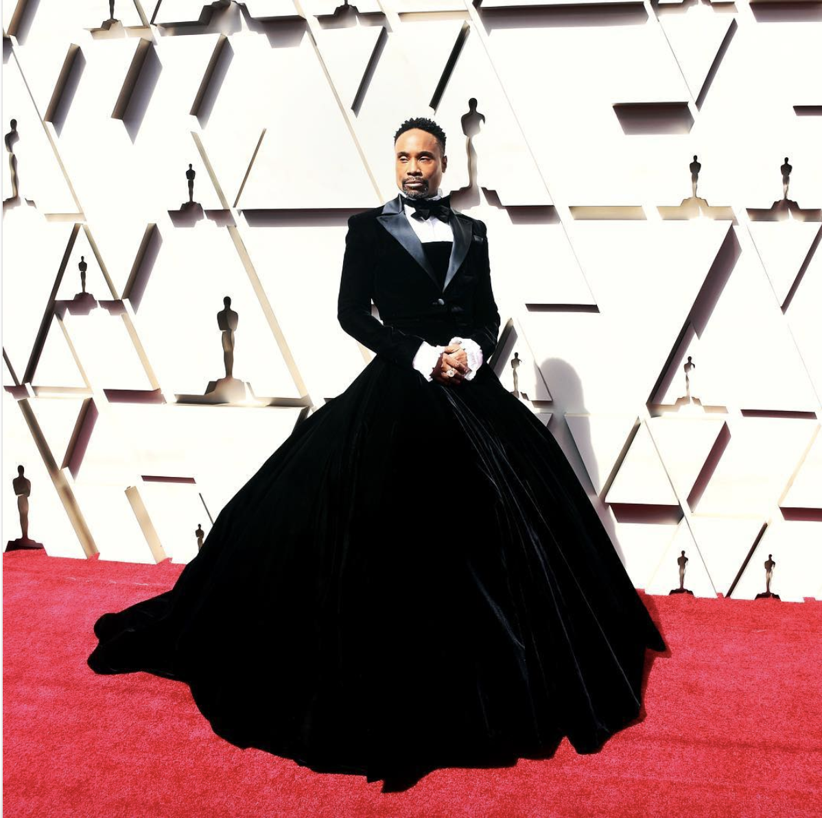 Billy Porter in Christian Siriano